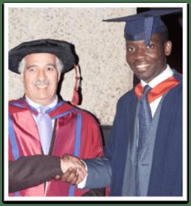 Ernest graduation