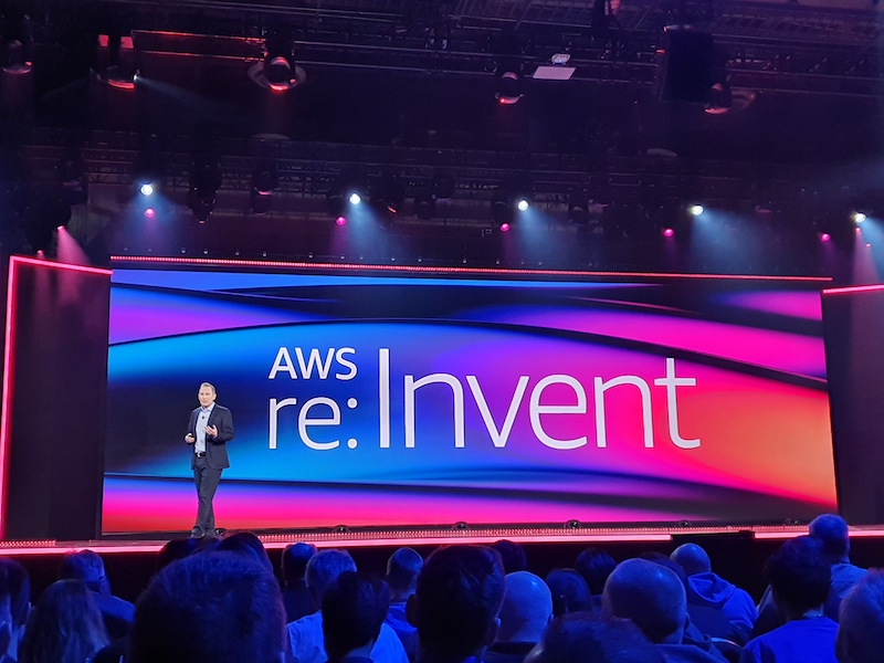 DMW at AWS 2019 Andy Jassy keynote speech
