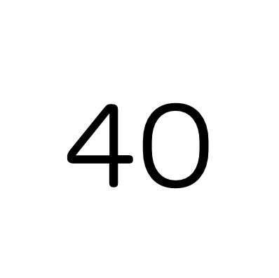 40 Agile certified consultants