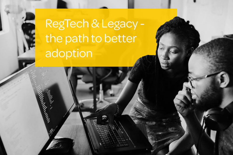 regtech and legacy integration tech